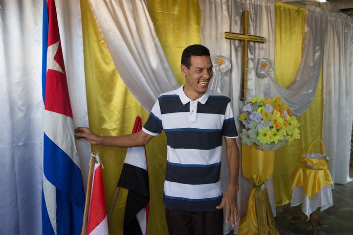 "Jose Luís Cruz is pastor the Methodist Church in Falcón, Cuba. The church is known as ""The Embassy of the Holy Spirit,"