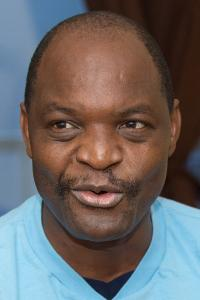 Photo of the Rev. Lloyd T. Nyarota by Mike DuBose, United Methodist News Service.
