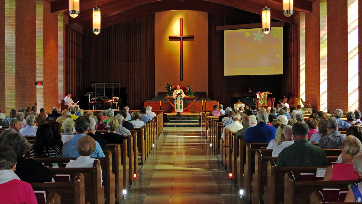 The congregation of Epworth United Methodist Church, in Toledo, Ohio, is not of one mind about church law related to homosexuality. Epworth would face serious internal division if schism comes to The United Methodist Church and local congregations are asked to align with either a traditionalist or progressive group, says the Rev. Doug Damron, pastor. Photo courtesy Epworth United Methodist Church.