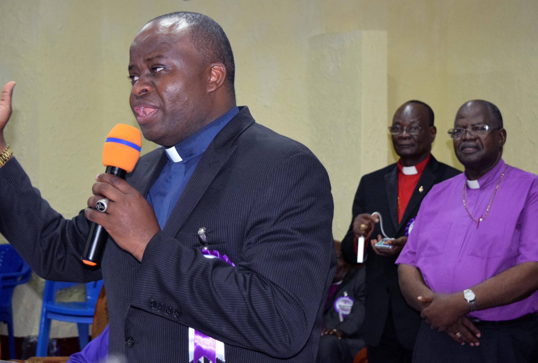 Bishop Mande Muyombo. Photo by Kathleen Barry, United Methodist Communications