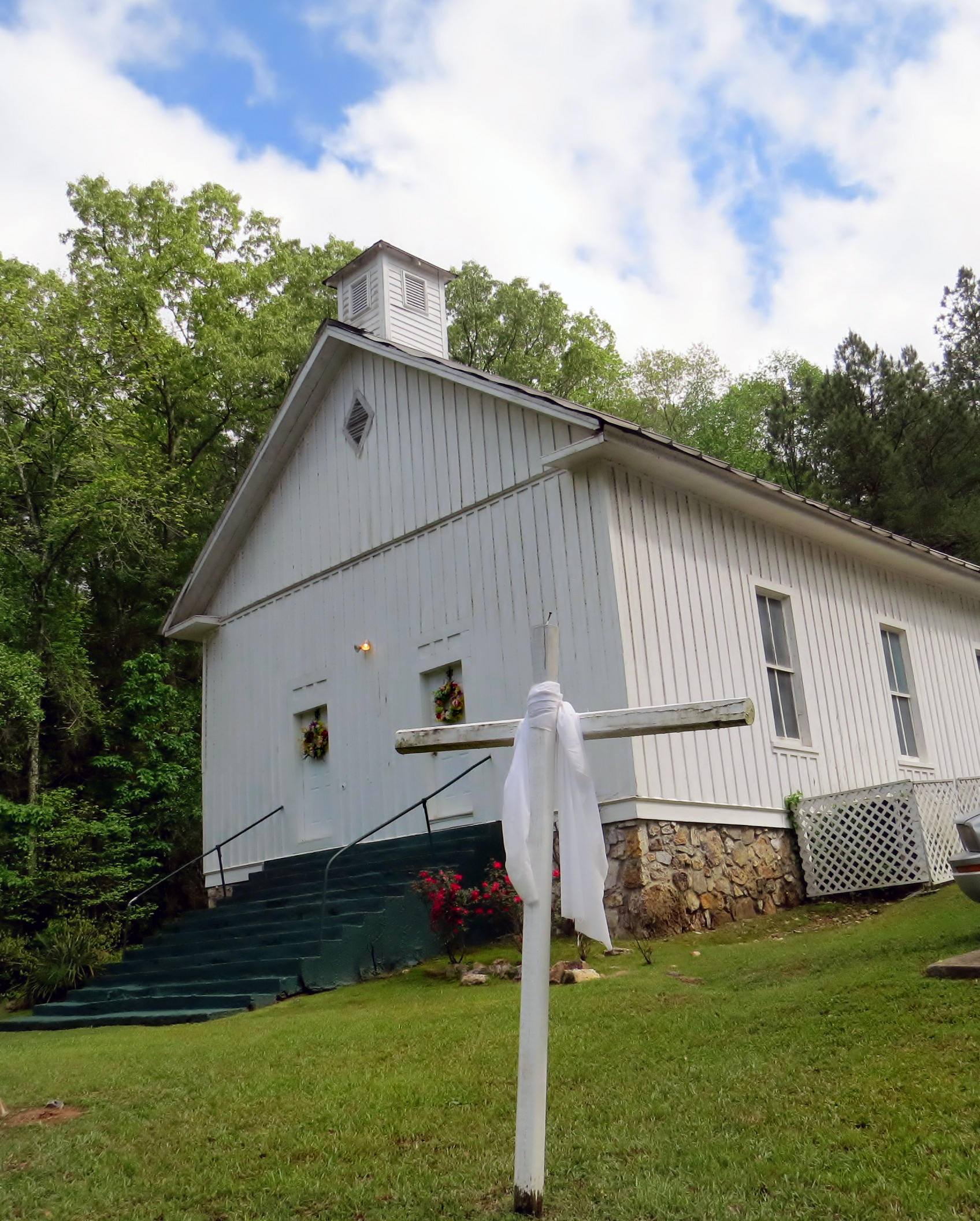 Chubb Chapel United Methodist Church was founded in 1870 by the Chubb family and other black residents of Chubbtown, Georgia. Before and during the Civil War, the Chubbs were free blacks, something rare in the rural South at that time. Photo by Sam Hodges, UMNS.
