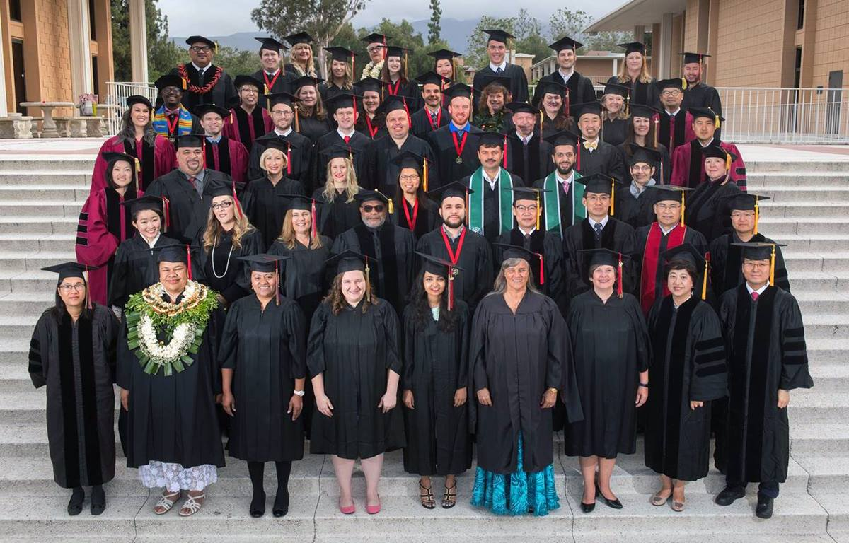 The Claremont School of Theology class of 2017 is the largest ever, with nearly 80 students receiving degrees. The 2017 class also includes the first class of hybrid/online students.