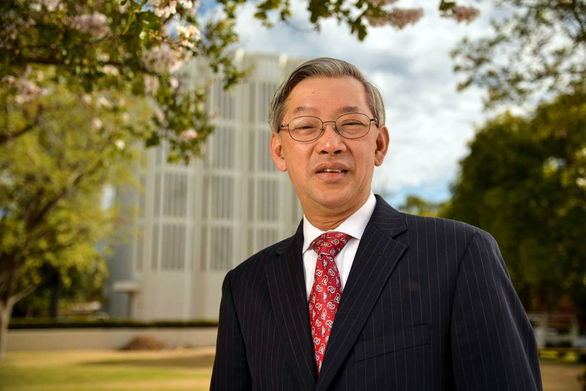 The Rev. Kah-Jin Jeffrey Kuan became the president of Claremont School of Theology in 2013. Photo courtesy of Claremont School of Theology.