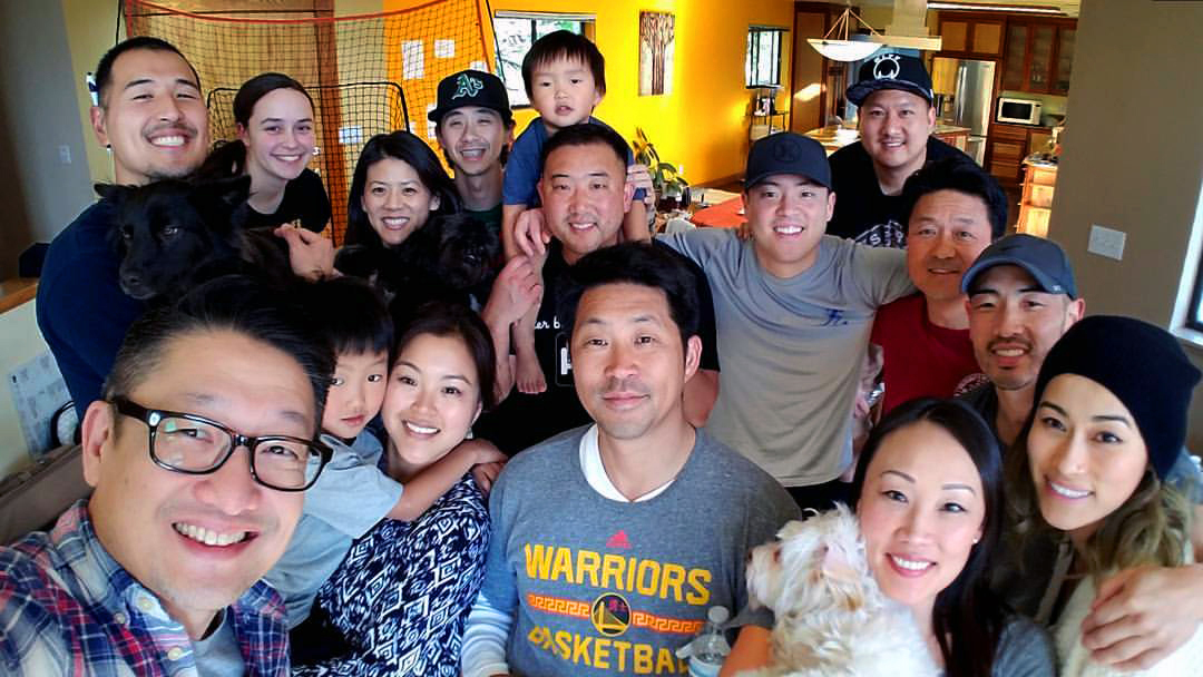 Members of Embrace Church in northern California's Bay Area pose for a group selfie. The new church, which launched officially in July 2015, began as a small group of Oakland Korean United Methodist Church. Photo courtesy of Embrace Church.