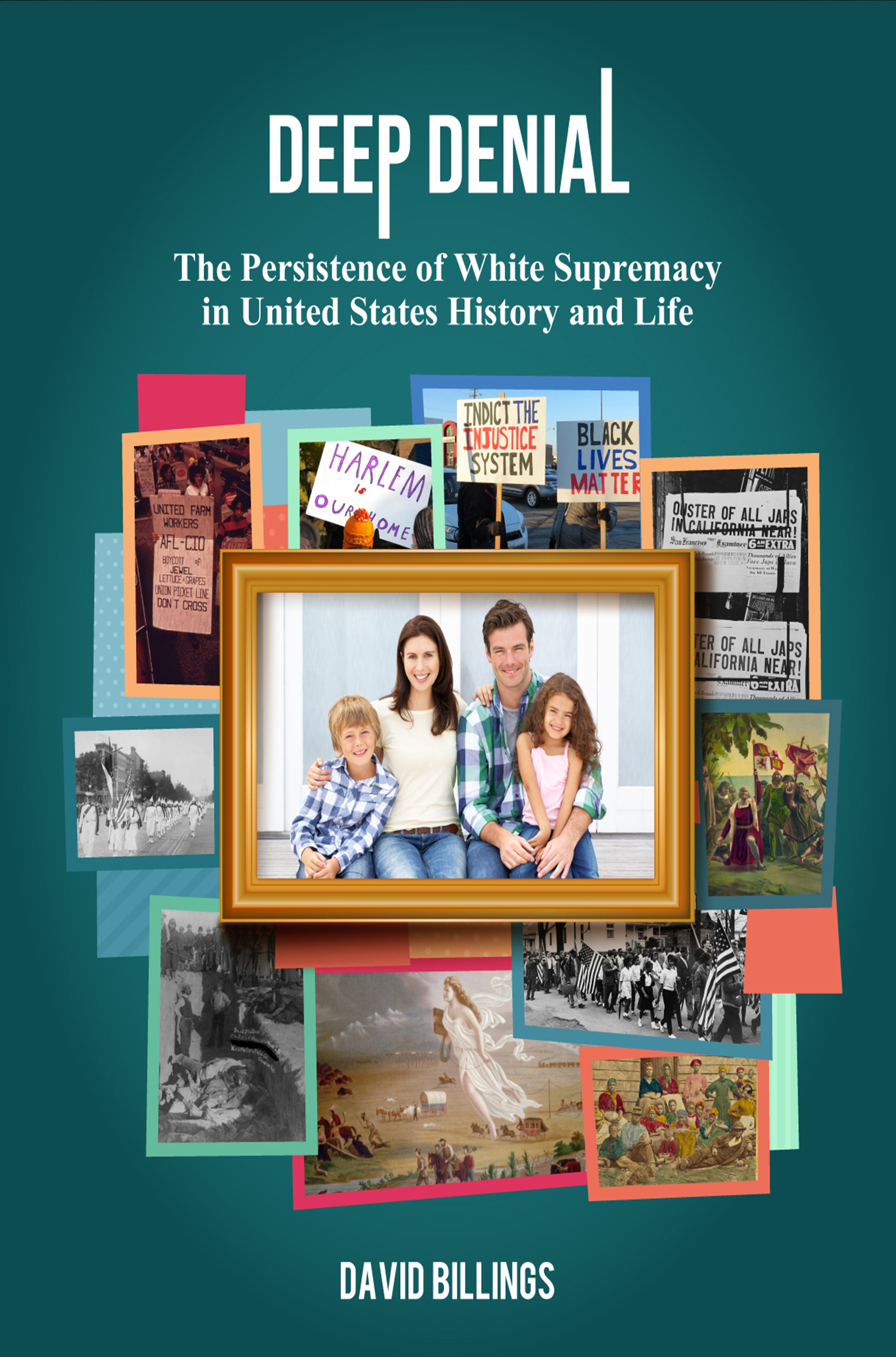 """""""Deep Denial,"""" a book about white supremacy written by a United Methodist pastor, recently won the 2017 Next Generation Indie Book Award in the Current Events/Social Change category. Photo courtesy of Margery Freeman."""