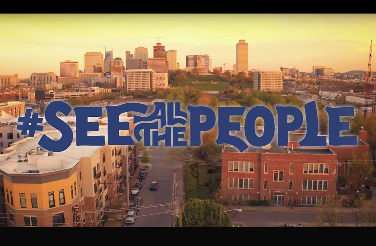 """The title graphic from """"See All the People,"""" a video produced by Discipleship Ministries as part of a new disciple-making initiative. Video image courtesy of Discipleship Ministries."""