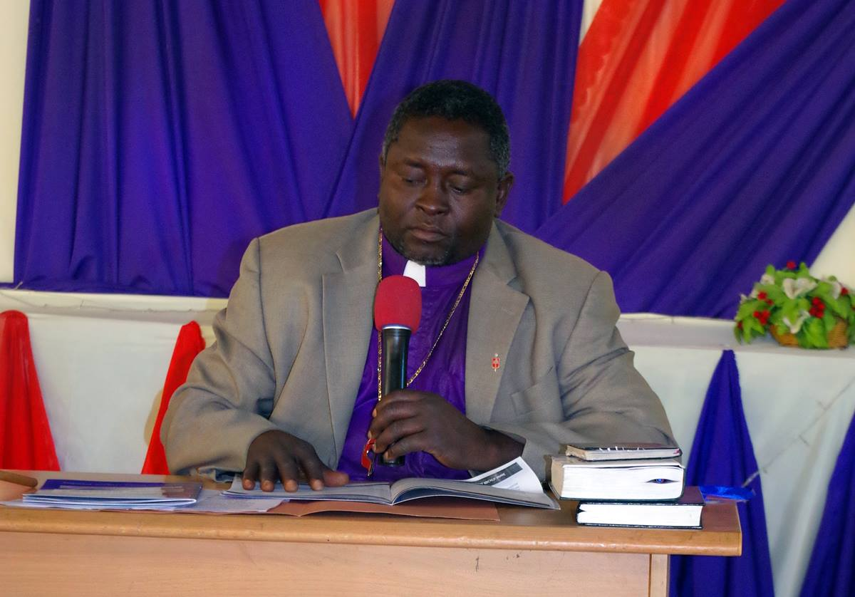 Nigerian Bishop John Wesley Yohanna said the country is likely to get one of the five bishops The United Methodist Church plans to add in Africa after 2020. Yohanna spoke to the issue at the inauguration service for Nigeria's new North East Conference. Photo by the Rev. Ande I. Emmanuel, UMNS.