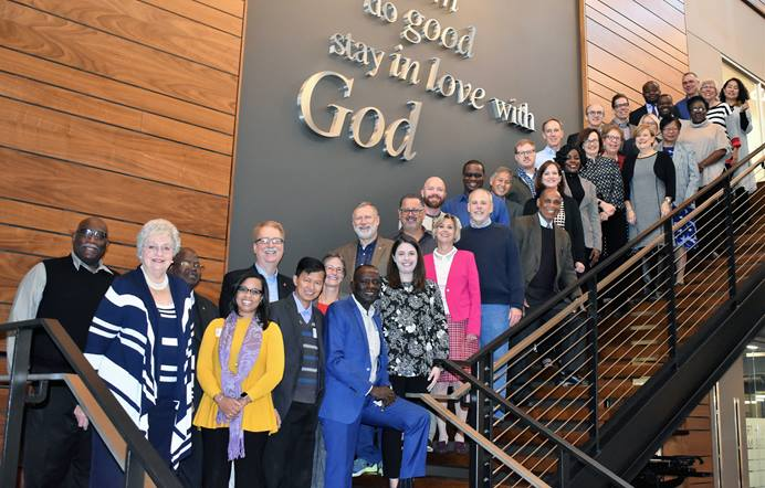 The Commission on a Way Forward convened Oct. 30-Nov. 1 at the United Methodist Publishing House in Nashville, Tenn. The commission is still working on possibilities for the denomination's future. Photo by the Rev. Maidstone Mulenga.