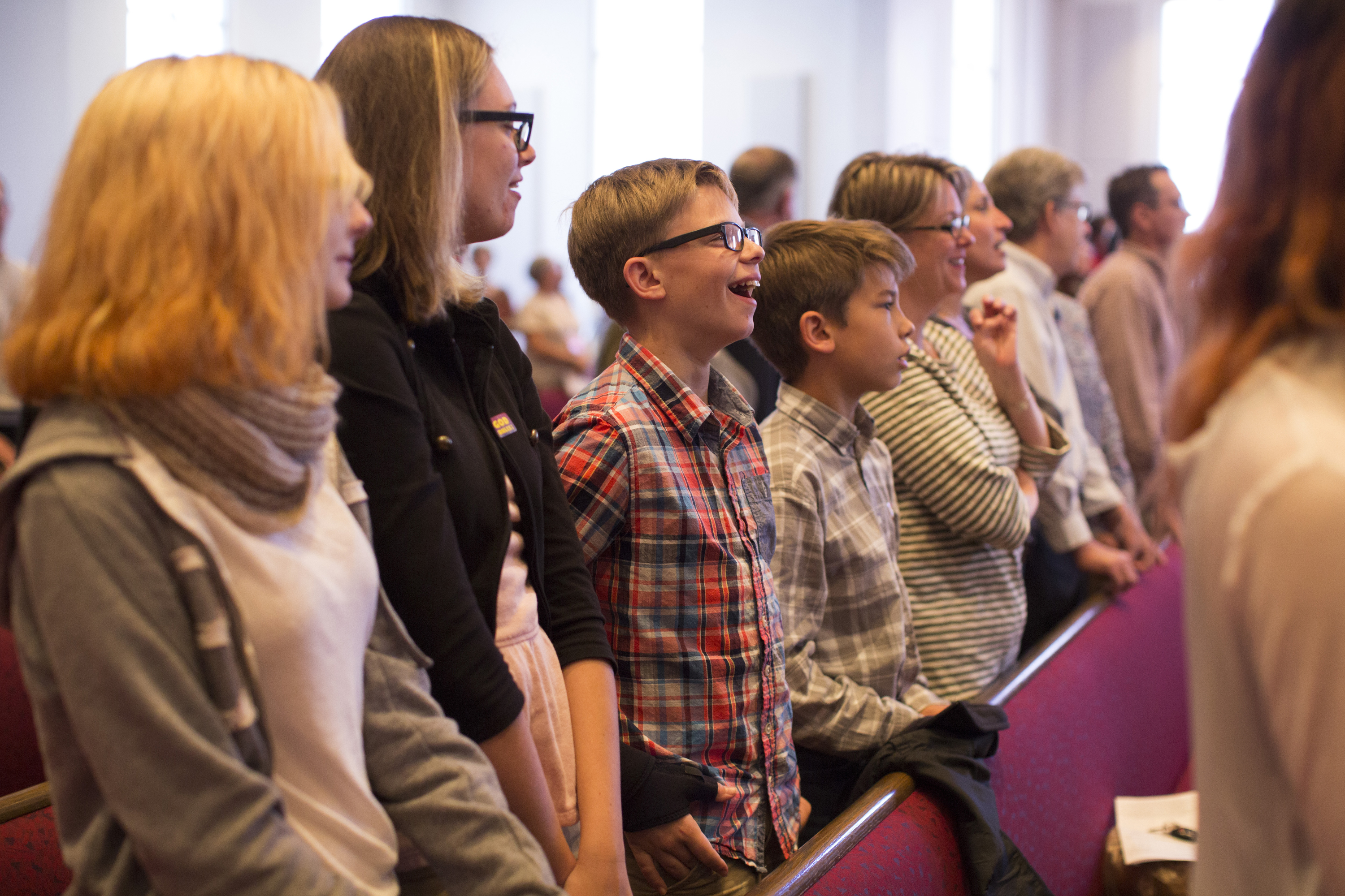 People worship at McKendree United Methodist Church in Lawrenceville, Ga, on Oct. 23, 2016. Photo by Kathleen Barry, UMNS.