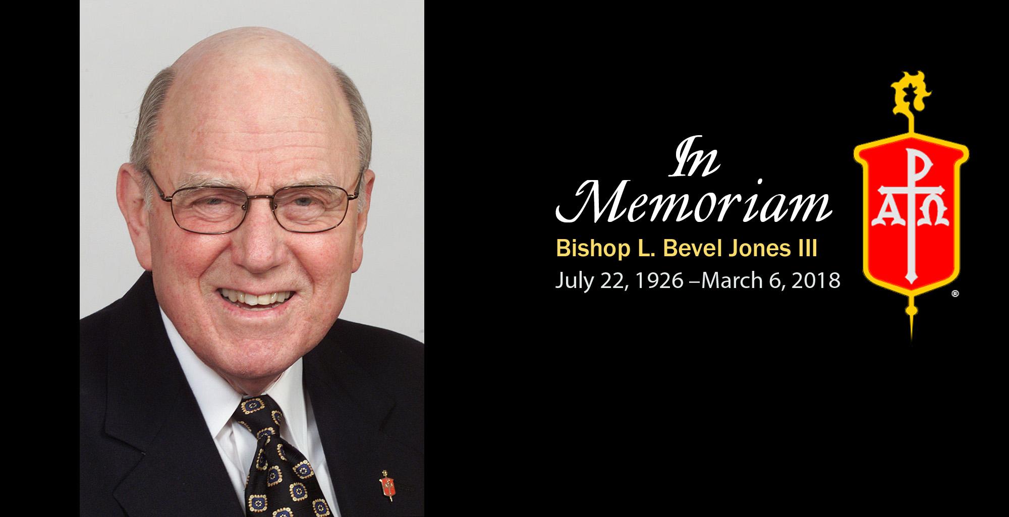 Bishop L. Bevel Jones III. Photo by Mike DuBose, UMNS.