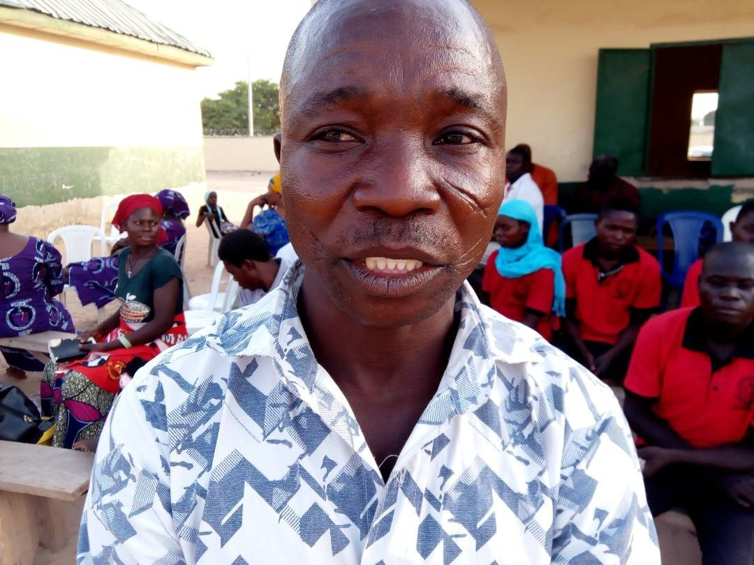 Yohanna Nzakobature, leader of the returned members from the Kakulu District of the Southern Nigeria Conference, said the group decided to return to restore unity in The United Methodist Church. Photo by Ande I. Emmanuel, UMNS.