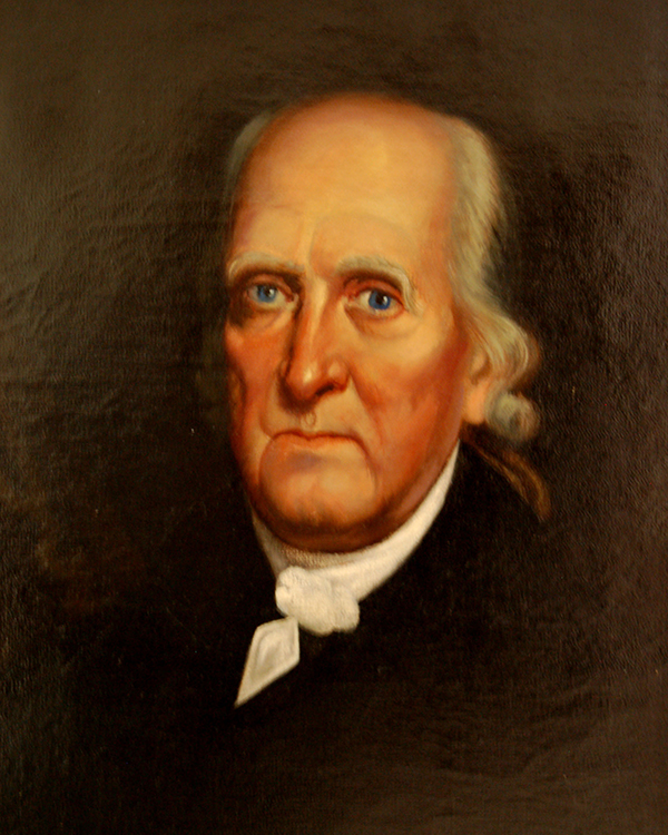Philip Otterbein, co-founder of the United Brethren. Portrait courtesy of the Archives and History.