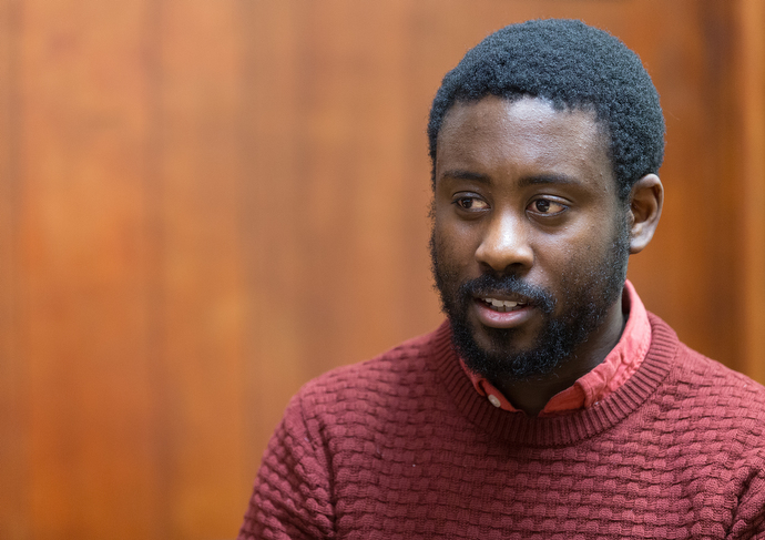Peter Baffoe grew up in the area around Bermondsey Central Hall and remembers a time when it was considered unsafe. He now serves as faith and community development officer for Bermondsey's South London Mission.