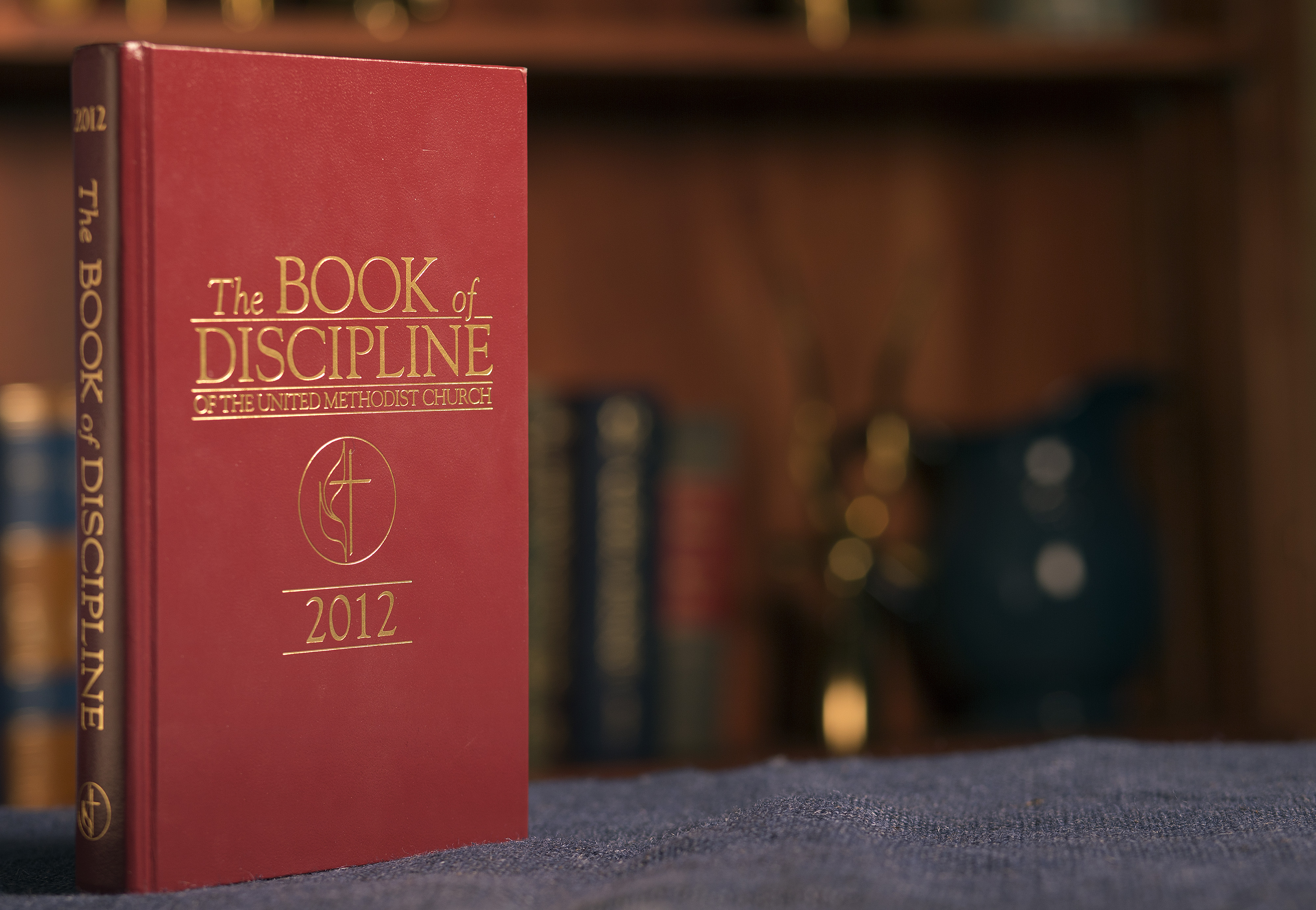 The statements in the Book of Discipline regarding homosexuality have sparked debate at each General Conference since 1972. Photo by Mike DuBose, United Methodist Communications