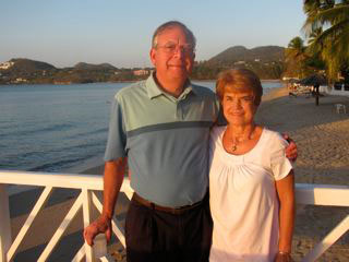 Susan Ramer and Lloyd Ramer met at a United Methodist camp and have been married for 43 years. A web-only photo courtesy the Ramers.
