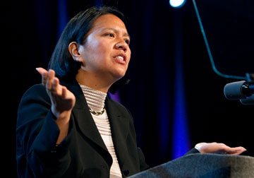 The Rev. Amy Valdez Barker. A UMNS photo by Mike DuBose.