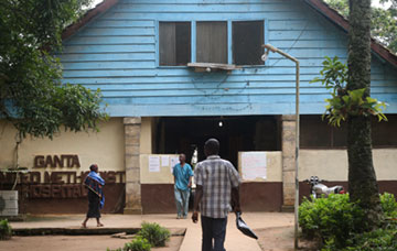 Ganta (Liberia) United Methodist Hospital was founded by two United Methodist missionaries in 1926.