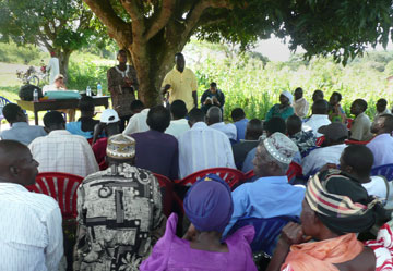 More than 100 Christians and Muslims completed shalom training in 2011 in Jinja, Uganda, and now are working together to produce Shalom Coffee from the Source of the Nile.