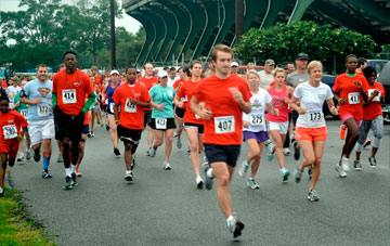 More than 2,000 people from eight cities ran in the April 21 Skeeter Run benefiting Imagine No Malaria and organized by the Louisiana Annual Conference.  A web-only photo courtesy of the Louisiana Annual Conference.