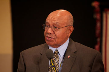 United Methodist Bishop Melvin Talbert was asked to oversee a grassroots movement within the Western Jurisdiction that challenges bishops, clergy, laity and local churches and ministry settings to operate as if the statement printed in the denomination's law book-Para. 161F -does not exist.