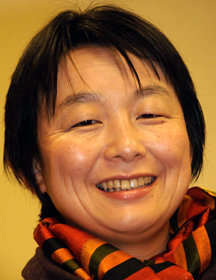 Tomoko Arakawa, Asian Rural Institute. A UMNS photo by John Goodwin.