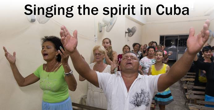 Writer Linda Bloom and Photographer Mike DuBose traveled to Cuba in November 2016 on behalf of United Methodist News Service to learn more about the Methodist Church in Cuba.
