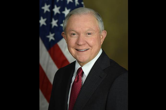 U.S. Attorney General Jeff Sessions faces criticism, even charges under church law, from fellow United Methodists unhappy with his enforcement and justification of the Trump Administration's zero tolerance policy on immigration violations. Official portrait by United States Department of Justice.