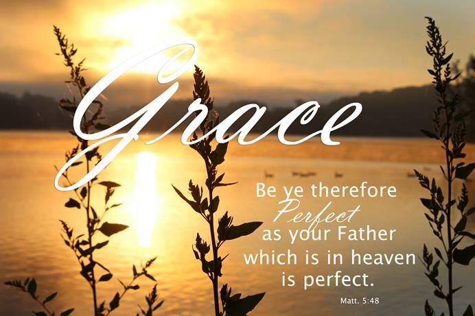Be ye therefore perfect as your Father which is in heaven is perfect - Matt. 5:48. File photo by Kay Panovec, United Methodist Communications.