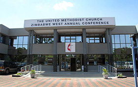 The Zimbabwe West Annual Conference head office. Photo by Priscilla Muzerengwa, UMNS.