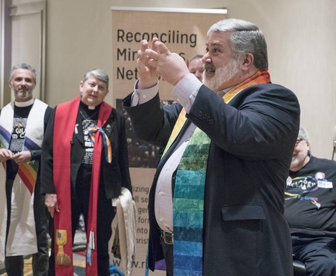 The Rev. David Meredith and the church counsel for the United Methodist West Ohio Conference are asking the United Methodist Judicial Council to review a March decision by a jurisdictional appeal court. File photo by Kathy L. Gilbert.