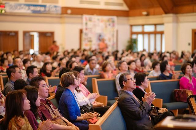 하와이 호놀루루의 그리스도 연합감리교회 예배 전경.  그리스도 연합감리교회 제공