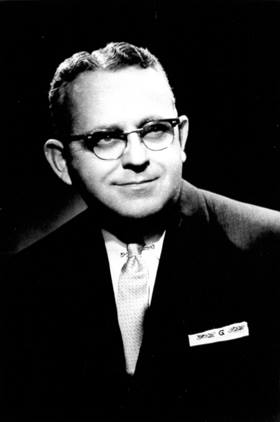 """Bishop W. Kenneth Goodson took on the challenge of integrating the Methodist conferences of Alabama. He figures prominently in William Nicholas' new book """"Go and Be Reconciled: Alabama Methodists Confront Racial Injustice, 1954-1974."""" UMNS file photo."""