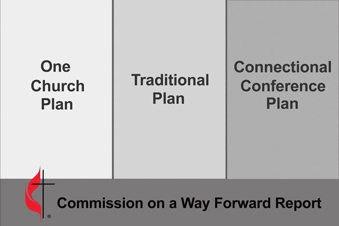 The special 2019 General Conference of The United Methodist Church — set for Feb. 23-26 in St. Louis — will attempt to find a way forward for The United Methodist Church by considering the three different plans included in the report developed by the Commission on a Way Forward. The full report and all the legislation are part of the docket. Image by United Methodist News Service.