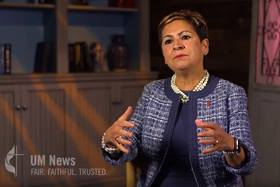 """Many United Methodists feel anxiety as the denomination heads toward a special General Conference in 2019. Louisiana Area Bishop Cynthia Fierro Harvey, president-designate of the Council of Bishops, offers her thoughts on where we are as a church. Harvey appears in the first installment of """"Seeing a Way Forward,"""" a series of UM News videos discussing the work of the Commission on a Way Forward."""