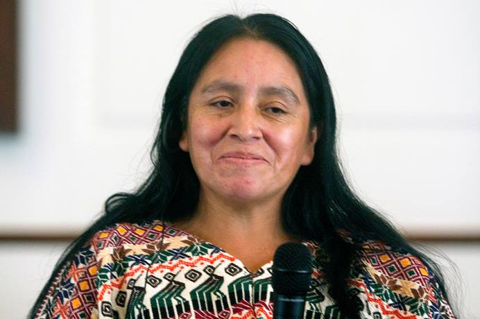 Maria Chavalan Sut is living at Wesley Memorial United Methodist Church in Charlottesville, Va., to avoid being deported to Guatemala. Photo: © Richard Lord.