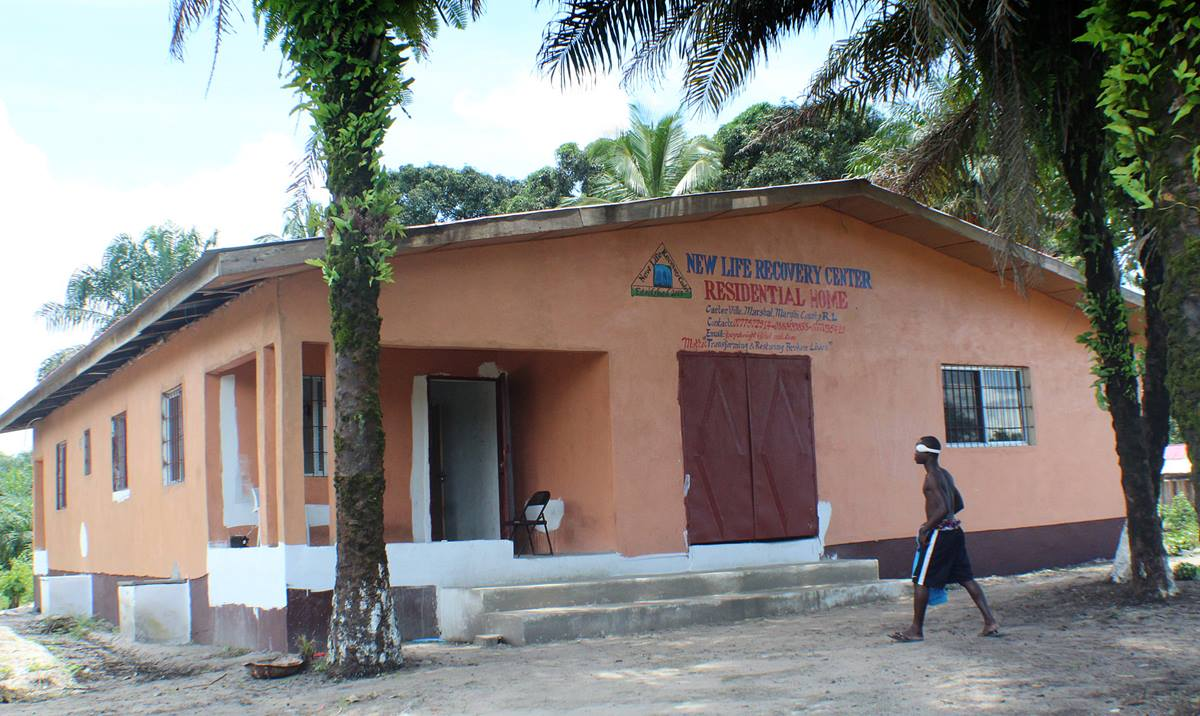 Young people addicted to drugs find support and educational opportunities at the United Methodist New Life Recovery Center in Carterville, Liberia. Photo by E Julu Swen, UMNS.