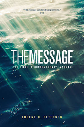 """""""The Message: The Bible in Contemporary Language"""" artwork courtesy of Cokesbury.com."""