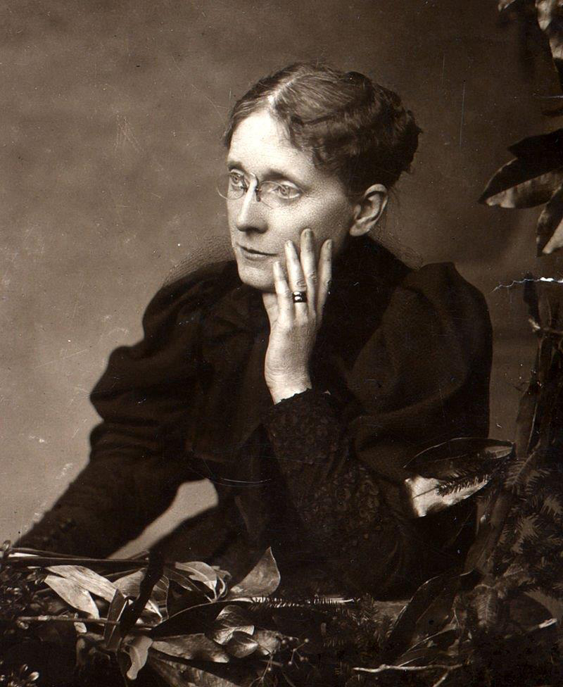 Frances Willard led the Woman's Christian Temperance Union, which championed both abstention from alcohol and women's rights. This portrait is dated before 1898, courtesy of Wikimedia Commons.