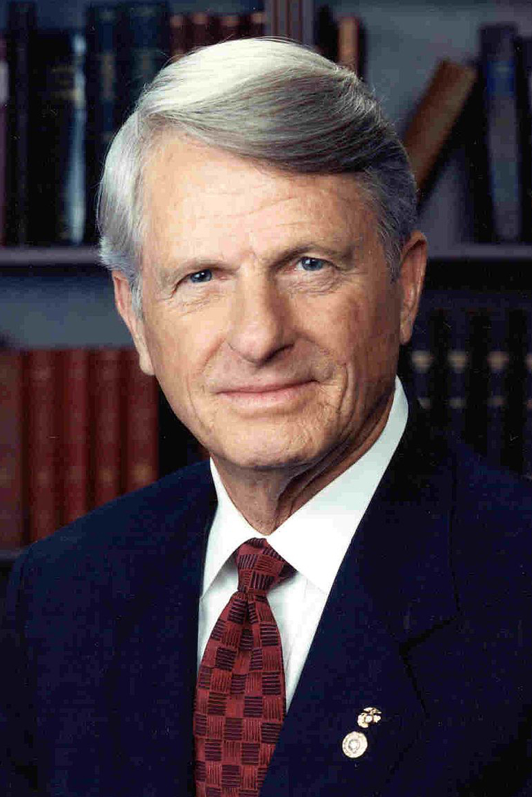 Zell Miller. Photo courtesy of the North Georgia Conference.