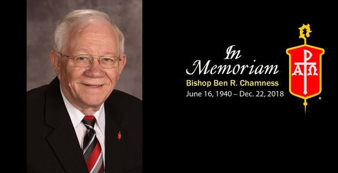 Bishop Ben R. Chamness was the rare bishop to serve in two U.S. jurisdictions. Photo courtesy of the Council of Bishops.