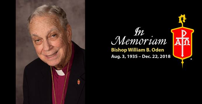 Bishop William B. Oden grew up on an Oklahoma farm, and would eventually travel the world as a representative for The United Methodist Church, advocating for ecumenical and interfaith cooperation. Photo courtesy of the Council of Bishops.