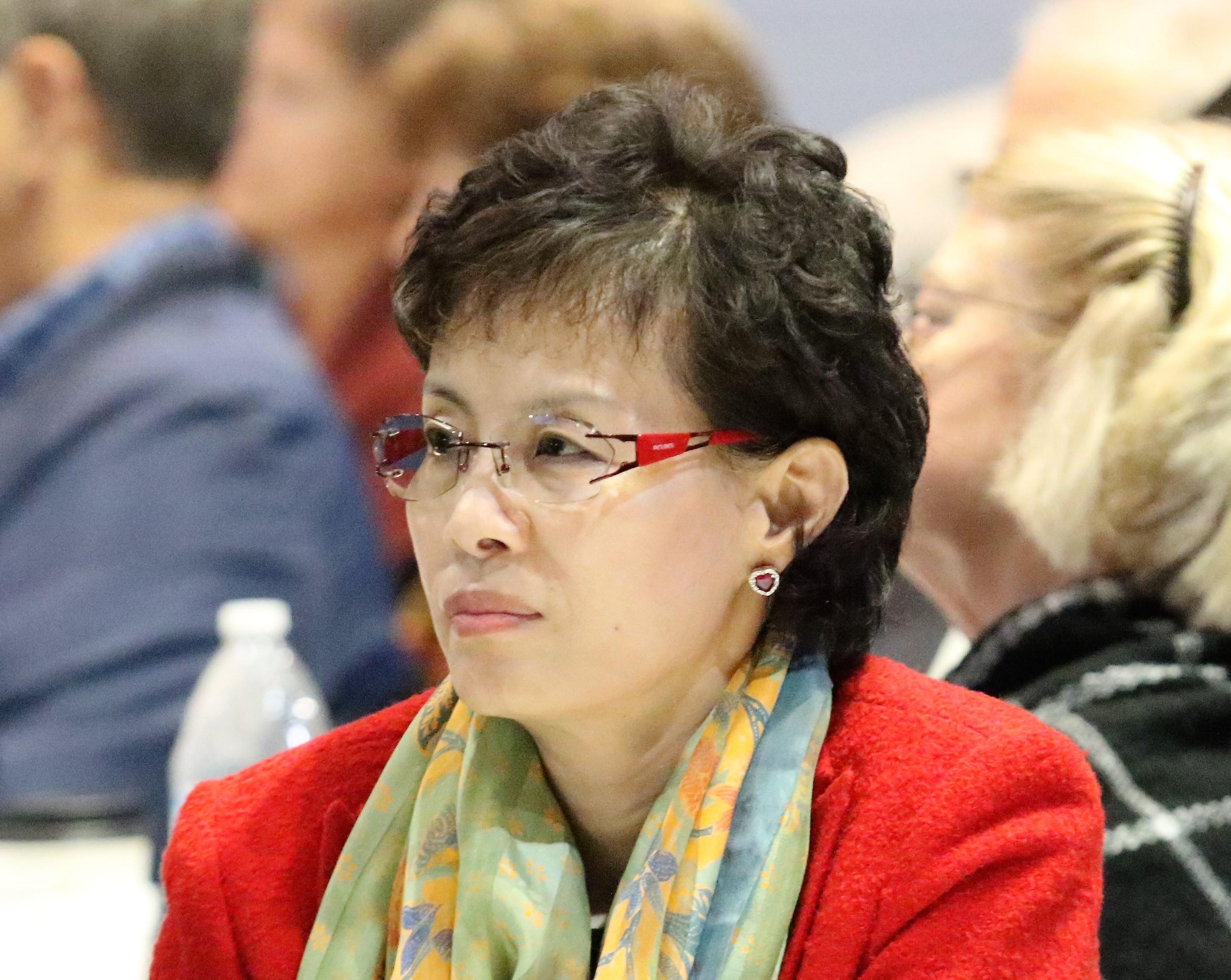 성백은 목사가 2018년 11월 WCA 총회에 참석한 모습. 사진 김응선목사, UMNS