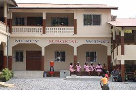 A new $140,000 surgery wing at United Methodist Mercy Hospital in Bo, Sierra Leone, will allow doctors to perform complex medical procedures, including cesarean sections. Photo by Phileas Jusu, UMNS.