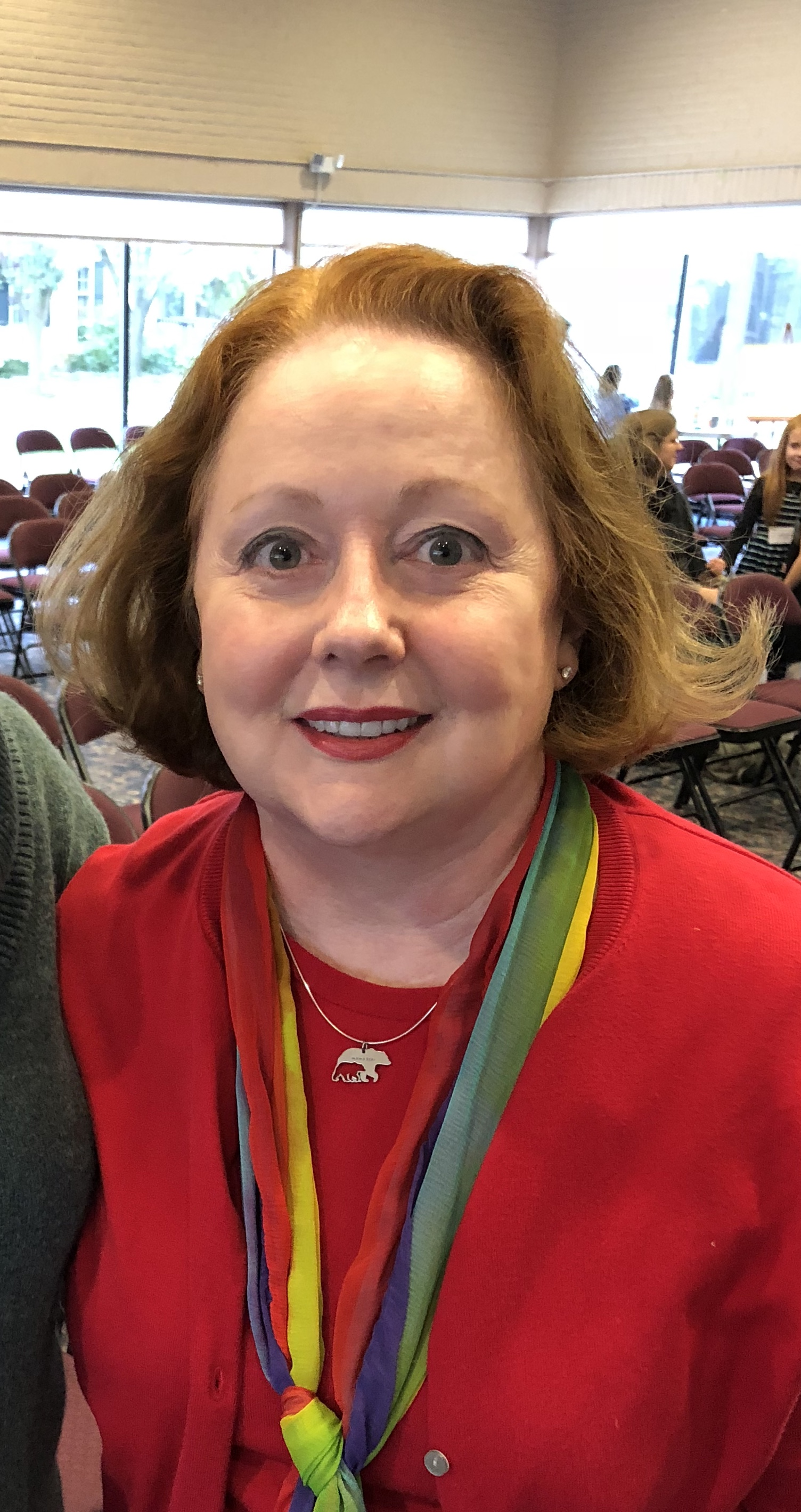 """Jaron Terry says she still has """"righteous rage"""" toward The United Methodist Church because of the treatment her family experienced after her son came out as homosexual in February of 2013. Photo courtesy of Jaron Terry."""