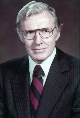 The Rev. Bruce Weaver (1921-2019) was a United Methodist mission leader, serving as interim director of the United Methodist Committee on Relief (UMCOR) and as founding director of the Russia Initiative, which did relief work and provided support for churches and pastors in Russia. Photo courtesy the Weaver family.