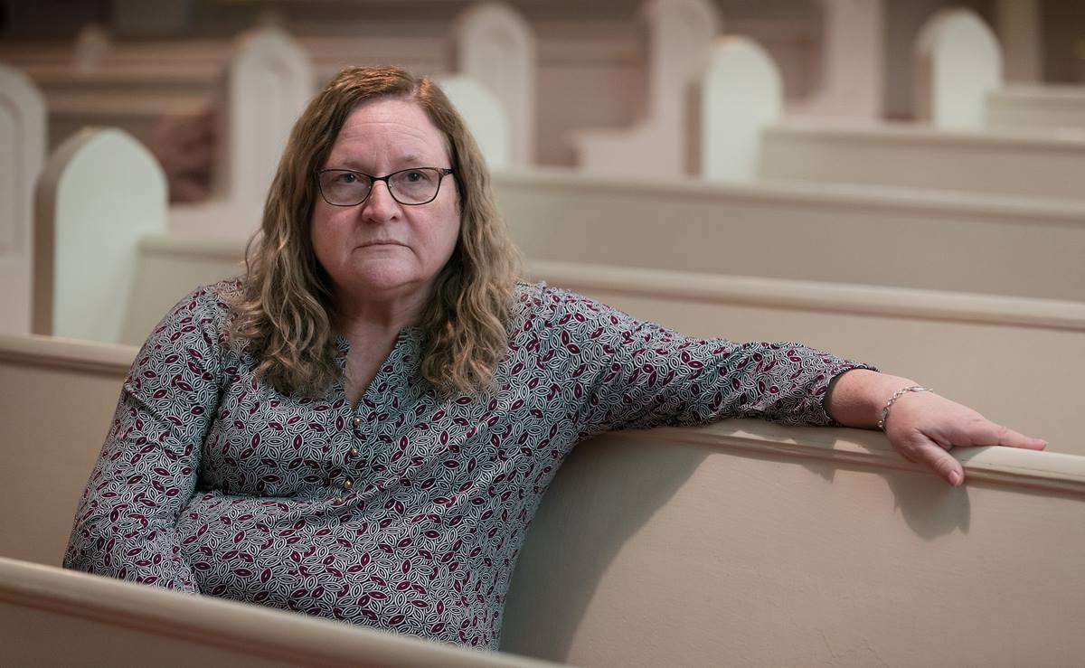 """The Rev. Paula Napier lost her 32-year-old son, Lincoln Nutter, to a drug overdose in June 2018. Napier, who pastors Canaan United Methodist Church in Charleston, W.Va., says she lives in the midst of the opioid crisis. """"I think people need to know it hits everybody,"""" she said."""