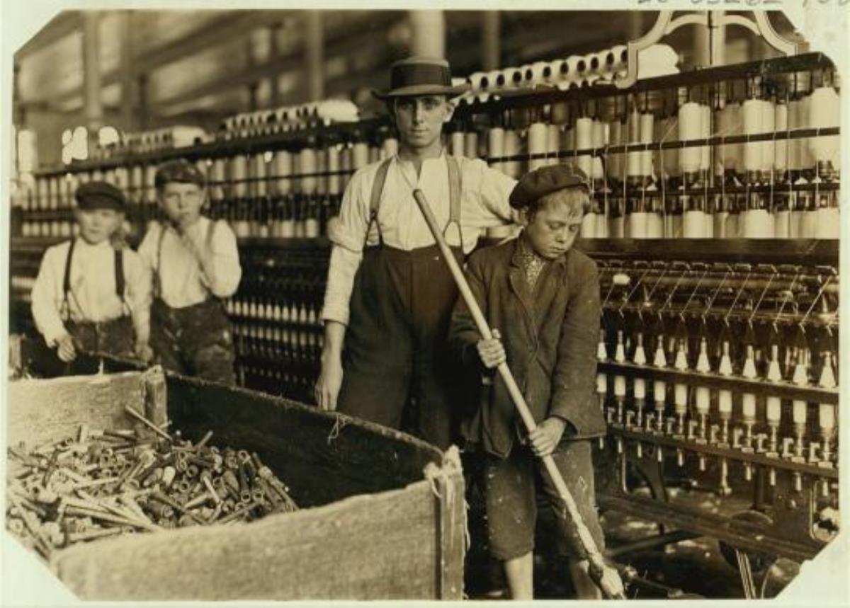 사진제공 루이스 하인의 전국아동노동위원회 컬렉션, 미국 국회도서관