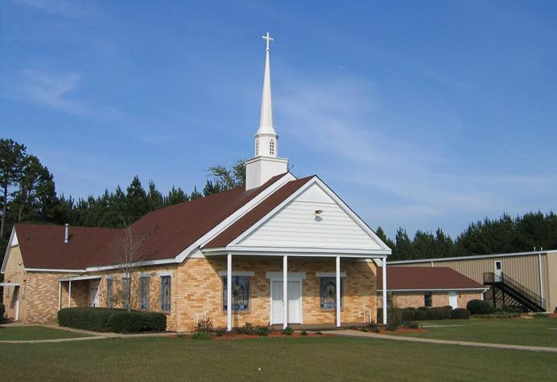 La Iglesia Metodista Unida Coy en Preston, Mississippi, se encuentra entre las siete congregaciones de Mississippi que dejaron la denominación el 30 de junio. Foto cortesía de la Conferencia Anual de Mississippi.