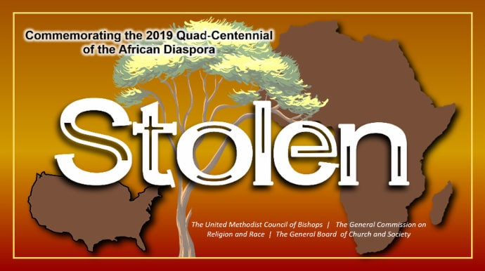 """""""Stolen"""" is described as """"a collection of resources and engagements to commemorate the quad-centennial of the first of the African diaspora brought to the American colonies."""""""