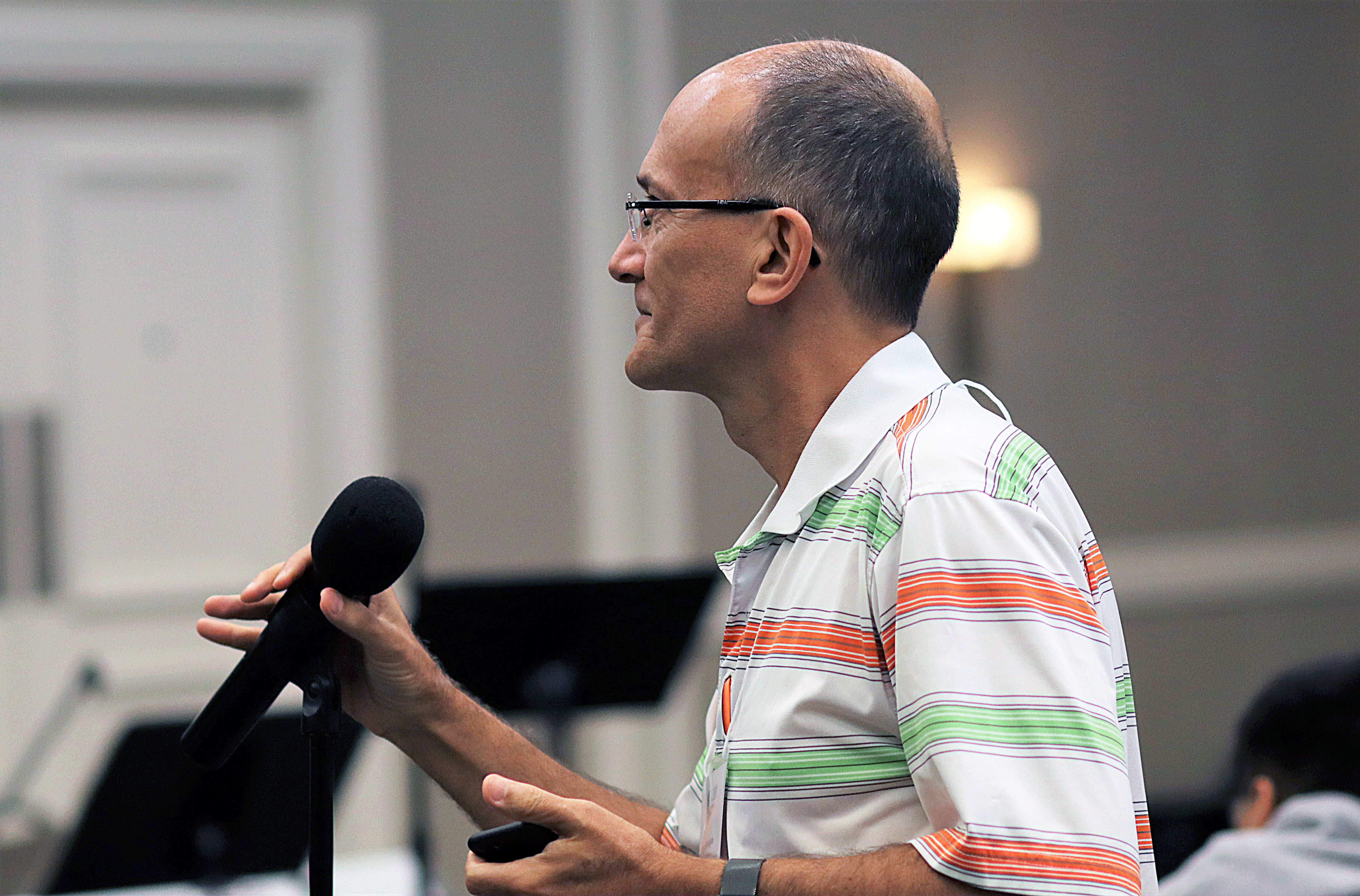 El Rev. Jorge Domingues, Director Ejecutivo de Ministerios Conexionales de la Conferencia Anual California-Nevada. Foto Michelle Maldonado, UMCOM.